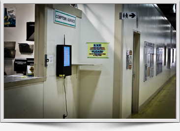 Digital signage for safety