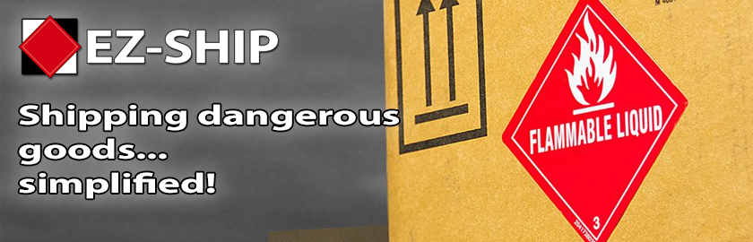 EZ-Ship - Shipping dangerous goods... simplified!