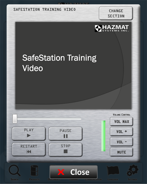 No need to go through a manual, simply watch the training video on the unit, and you